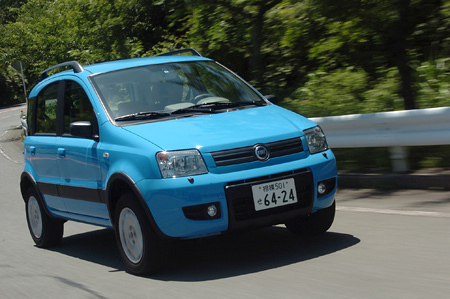 フィアット・パンダ4×4クライミング(5MT)【ブリーフテスト】