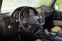 「メルセデス・ベンツG65 AMG」のインテリア。