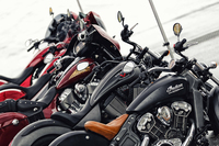 第1回:250ccのスクーターから2300ccのクルーザーまで輸入バイク チョイ乗りリポート(前編)の画像