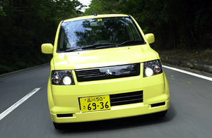 三菱eKスポーツR FF(4AT)【試乗記】