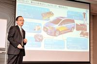 華創日本のCEOで、華創車電の取締役社長を務める李 俊忠氏。