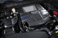 新開発の2リッターターボエンジン「FA20DIT」。シリーズ最強となる、300ps、40.8kgmを発生する。