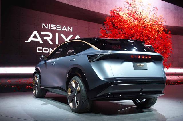 日産が電気自動車コンセプト「ニッサンIMk」と「ニッサン アリア