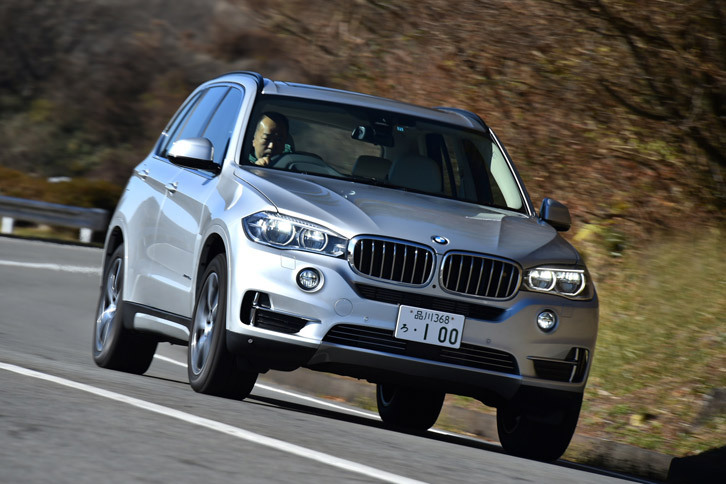 BMW X5 xDrive40e(4WD/8AT)【レビュー】