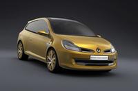 2007年3月ジュネーブショーで公開されたコンセプトカー「クリオ・グラントゥール」。