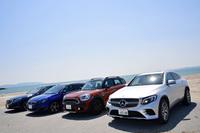 今回はコンパクトカーにワゴン、SUVやセダンといった、スタイルや価格も違うディーゼル車4台に試乗した。