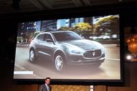 「ギブリ」に続き、2015年の市場投入が計画されているSUVの「レヴァンテ」。