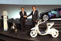 トヨタとヤマハ、「つながるバイク」で協業