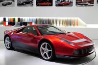 かつての「フェラーリ512BB」を思わせるワンオフモデル「SP12 EC」。