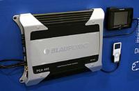 ハイインプットやミニプラグインプットなどを備え、これひとつでも純正アップグレードが図れるブラウプンクトのパワーアンプ「PCA465」。