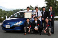 ピュアデジタルシステムクラス優勝のカーオーディオプロショップ・エモーション(プジョー307)