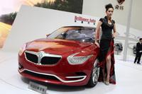 ブリリアンスが手がけるコンセプトカー、「大中貨概念車」。