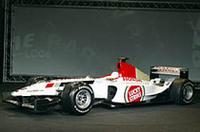 BARホンダ、2003年マシン「005」発表の画像
