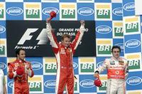 【F1 07】最終戦ブラジルGP、ライコネン優勝で大逆転、初タイトル獲得!