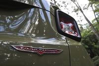 試乗車は2.4リッター直4自然吸気エンジン搭載の4WDモデル「トレイルホーク」。車両価格は340万2000円。