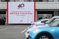 5年に1度行われる「NICOLE Circuit Day」。今回はニコル・レーシング・ジャパンの創立40周年という記念すべき年の開催となった。