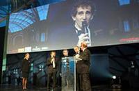 F1で4度のシリーズ・チャンピオンに輝いたアラン・プロスト。同フェスティバルの名誉審査委員長を務めている。