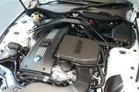 「sDrive35i」の3リッター直噴ツインターボエンジン。