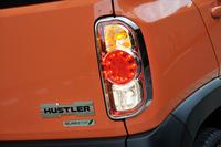 スズキ・ハスラー Xターボ(4WD/CVT)/ハスラー X(FF/CVT)【試乗記】の画像