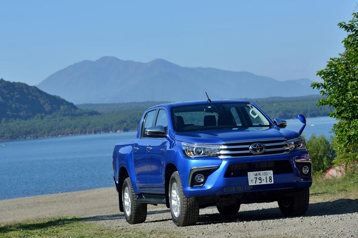 トヨタ・ハイラックスZ(4WD/6AT)【試乗記】