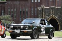 「スプリンタートレノ」は、双子車である「カローラレビン」とともに1972年にデビュー。2代目カローラ/スプリンターのクーペボディに、「セリカ/カリーナ1600GT」用の1.6リッター・ツインカムユニットを移植したホットモデルで、愛好家の間では「TE27」の型式名で呼ばれる。トレノとレビンでは、フロントマスクほか細部が異なるのみで、中身は同一。オーバーフェンダーは標準装備である。