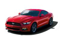 まずは2015年春、特別仕様車「マスタング 50 YEARS EDITION」(写真)が350台限定で販売される。