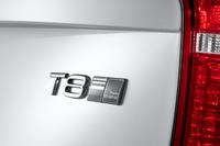 新型「XC90」の目玉のひとつに、新しいプラグインハイブリッド車がある。グレード名は「T8」。その横には「TWIN ENGINE」と記される。