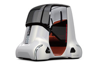「Honda WANDER STAND CONCEPT(ホンダ ワンダー スタンド コンセプト)」。デザインはあの「ホンダ不夜城」をほうふつとさせる。