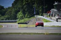 今回の試乗は、富士スピードウェイのショートコースと、構内の外周路を使って行われた。