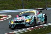 GT300クラスは、写真のNo.0 GSR 初音ミク BMW(谷口信輝/片岡龍也)が優勝。2011シーズン王者の貫禄を見せた。