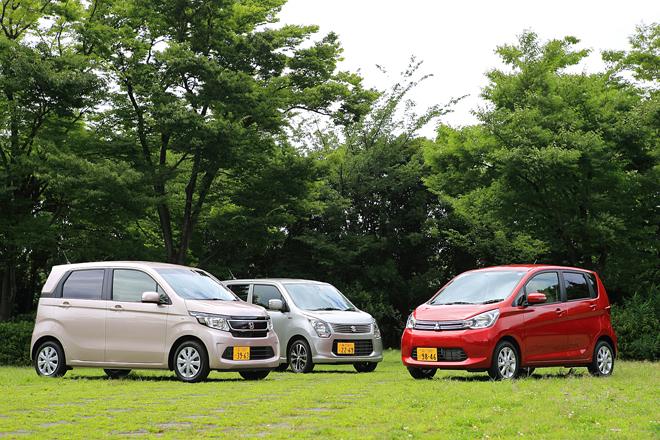 スズキ・ワゴンR 20周年記念車/ホンダN-WGN G・Aパッケージ/三菱eKワゴン G【試乗記(前編)】