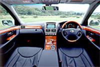 トヨタ・セルシオC仕様Fパッケージインテリアセレクション(4AT)【ブリーフテスト】の画像