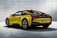 限定4台、「BMW i8」にマットイエローの特別仕様車の画像