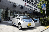 東京・田町にある三菱自動車本社を出発。まずは高速を使って横浜をめざす。