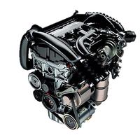 1.6リッター直4直噴ターボエンジン。従来モデルより最高出力が9ps、燃費が28%向上している。