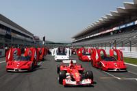 500台以上の跳ね馬が集結! 「フェラーリ・フェスティバル・ジャパン2009」開催