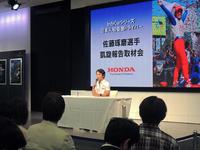佐藤琢磨が日本へ凱旋、インディカー初優勝を報告の画像