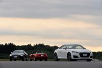 「アウディTT」は、「TT」「TTS」「TTロードスター」の3台そろい踏み。国内での試乗インプレッションです。(写真=高橋信宏)