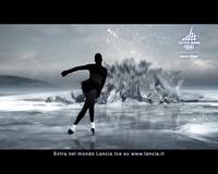 イタリア・フィギュアスケート界の妖精ことカロリーナ・コストネルを起用した「五輪篇」