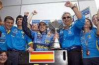 【F1 2005】第2戦マレーシアGP、アロンソVでルノー2連勝、トゥルーリ2位でトヨタ初表彰台!の画像