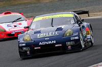 GT300クラスを制したNo.13エンドレスアドバンZ。意外にも、Zにとっては300クラス初勝利となる。