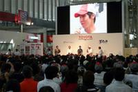 F1マシンが爆走! トヨタ、日本GPプレイベント開催