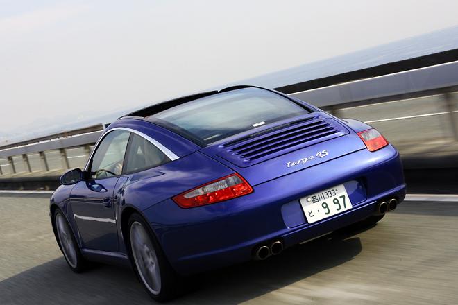 ポルシェ 911 タルガ 4S【試乗記】