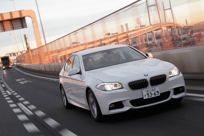 BMW 523dブルーパフォーマンス Mスポーツ(FR/8AT)【試乗記】