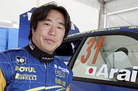新井敏弘は、PCWRCで今シーズン2勝目を飾った。最後の最後でマルコス・リガトを抜き、1.6秒差で手に入れた逆転勝利であった。(写真=スバル)
