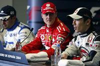 F1スペインGP、シューマッハー5連勝