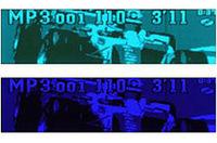 C7301ではパナソニック専用サイトから取り込んだ画像やデジカメなどで撮った画像をディスプレイに表示できる。