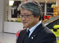 今回話をうかがった粥川 宏氏。トヨタ自動車 Toyota Compact Car CompanyのTC製品企画ZPチーフエンジニアとして、「ジャパンタクシー」の開発を取りまとめた。