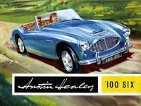 「オースチン・ヒーレー100-6」 1953年にデビューした「オースチン・ヒーレー100」は、56年にエンジンが4気筒から6気筒になり、シャシーにも変更が加えられた。59年には排気量が2.9リッターにまで増やされ、「オースチン・ヒーレー3000」へと発展する。