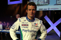 最もホットなフランス人ドライバーのひとり、セバスチャン・ロウブ。初ルマンに「楽しんで走りたい」とコメント。